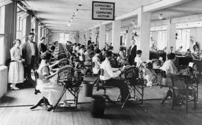 Computing Division al Dipartimento del Tesoro, a metà 1920