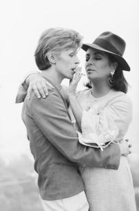 David Bowie e Liz Taylor, 1975