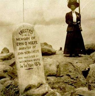 'Mangiato dai topi di montagna', Colorado c. 1876