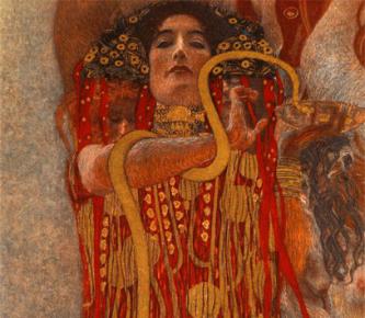 Gustav Klimt - Medicina, Igea