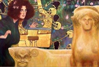 Gustav Klimt - Music II, 1898