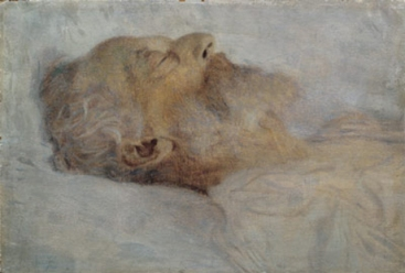 Gustav Klimt - Old man on the deathbed, 1900