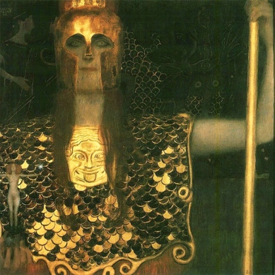 Gustav Klimt - Pallas Athenet, 1898