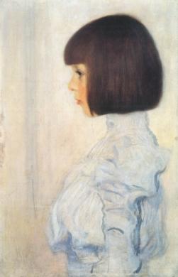 Gustav Klimt - Portrait of Helene Klimt, 1898