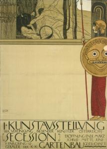 Gustav Klimt - Ver Sacrum - Poster per la prima mostra della Secessione (Teseo e Minotauro), 1898