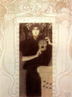 Gustav Klimt - Tragedia, 1897