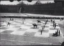 Scacchi umani nel 1924, San Pietroburgo, Russia