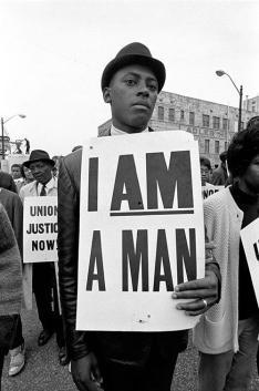 """""""I am a man"""" - Stati Uniti - Protesta per i diritti civili, anni '60"""