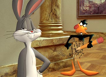 Looney Tunes Funny Paintings Scene