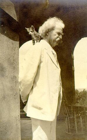 Mark Twain e un amico