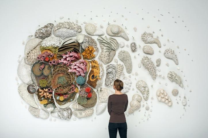 """Our Changing Seas III""dell'artista statunitenseCourtney Mattison"