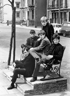 I Rolling Stones fotografati da Philip Townsend, 1962