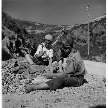 Suschitzky - Bosa - giovani tagliapietre, 1948