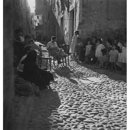 Suschitzky - Bosa - lavoro al filet, 1950