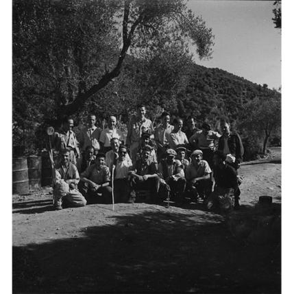 Suschitzky - Squadra di operai - foto di gruppo, 1950