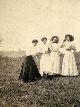 Insegnanti durante lo Spring Break, ca. 1910