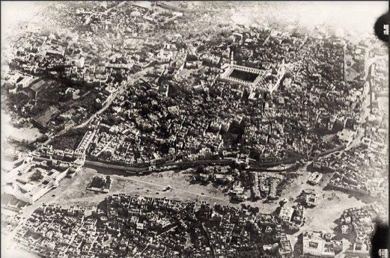 La città di Medina, in Arabia Saudita nel 1917