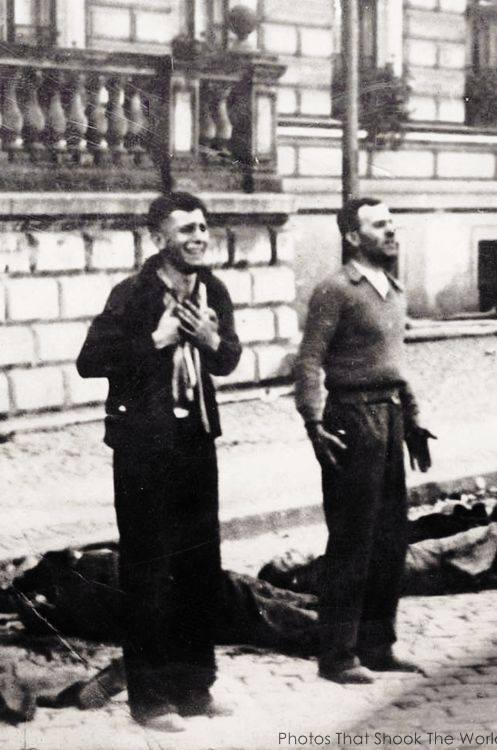 L'esecuzione di uomini polacchi Domenica di Sangue - Bydgoszcz 1939