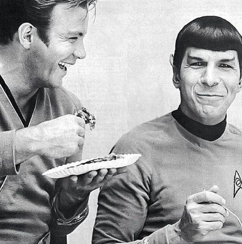 William Shatner e Leonard Nimoy 1968