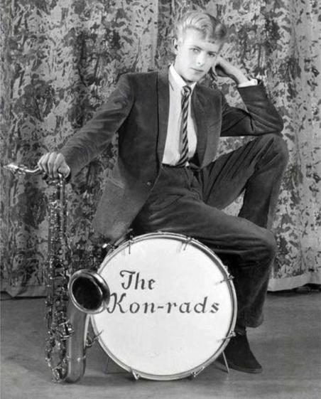 David Bowie a 16 anni nel 1963