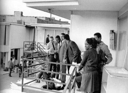 4 Aprile 1968 - Martin Luther King, Jr. viene assassinato da James Earl Ray in un motel a Memphis, Tennessee