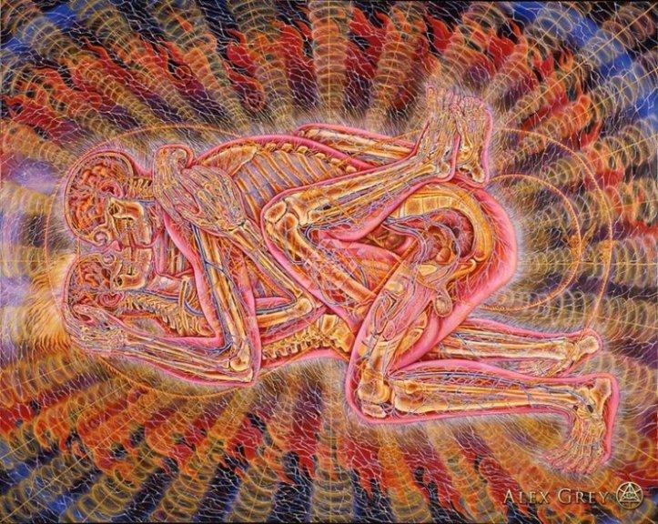 L'arte psichedelica dell'artista statunitenseAlex Grey