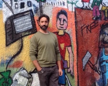Nuovo muraledell'artista italiano Andrea Cardia al Pigneto