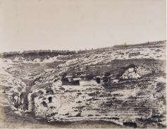 Édouard Delessert - Cagliari, Anfiteatro romano, 1854