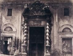 Édouard Delessert - Cagliari, Chiesa di Santa Caterina (ingresso), 1854