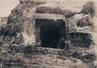Édouard Delessert - Cagliari, Grotta della Vipera, 1854