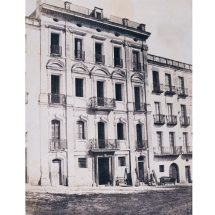 Édouard Delessert - Cagliari, Hôtel du Progrès, 1854