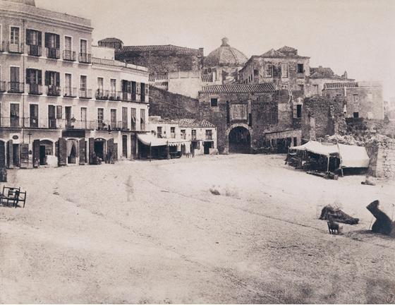 Édouard Delessert - Cagliari, Porta Stampaccio, 1854