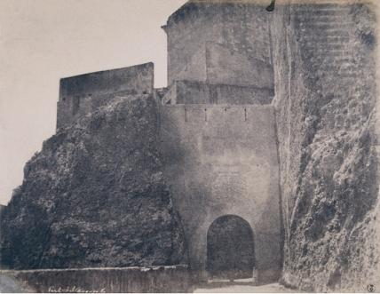 Édouard Delessert - Cagliari, Porte ad est, 1854