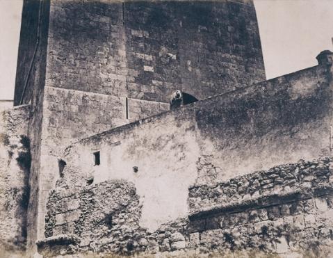 Édouard Delessert - Cagliari, Torre dell'Elefante, 1854