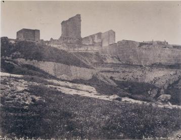 Édouard Delessert - Cagliari, Torre Pisana (Torre di San Pancrazio), 1854