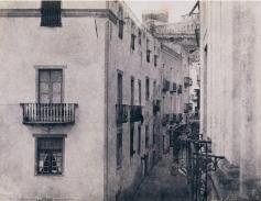 Édouard Delessert - Cagliari, una via, 1854
