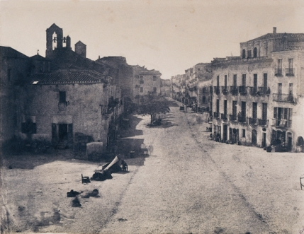 Édouard Delessert - Cagliari, Via d'Jena (Piazza Ienne),1854