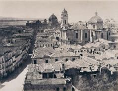 Édouard Delessert - Cagliari, Via San Michele, 1854