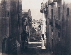 Édouard Delessert - Cagliari, Via Santa Teresa, 1854