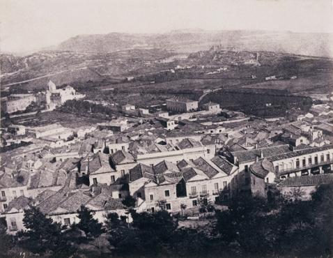 Édouard Delessert - Cagliari, vista dal Consolato francese, 1854