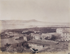 Édouard Delessert - Cagliari, vista delle saline, 1854