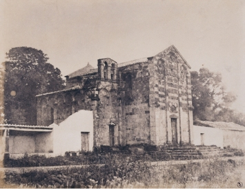 Édouard Delessert - Milis, Chiesa (Chiesa di San Paolo), 1854
