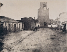 Édouard Delessert - Oristano, Porta d'ingresso (Torre di San Cristoforo), 1854