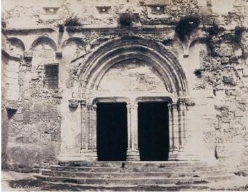 Édouard Delessert - Porto Torres, Basilica di San Gavino (ingresso), 1854