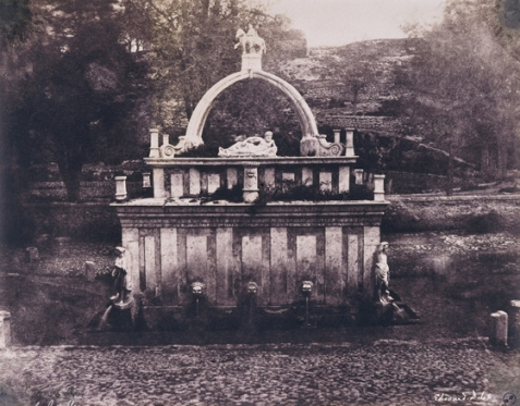 Édouard Delessert - Sassari, Fontana del Rosello (facciata anteriore), 1854