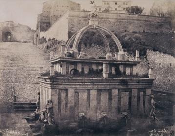 Édouard Delessert - Sassari, Fontana del Rosello (facciata posteriore), 1854