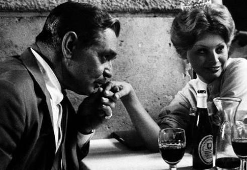 Clark Gable e Sophia Loren, Roma 1959