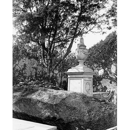 Fondo Costa - Caprera, Tomba di Giuseppe Garibaldi