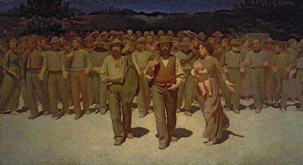 Giuseppe Pellizza da Volpedo - Il Quarto Stato (1901)
