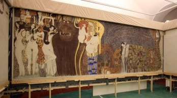Gustav Klimt - Fregio di Beethoven - Forze ostili